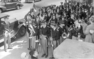 Westerly High School band, May 1951